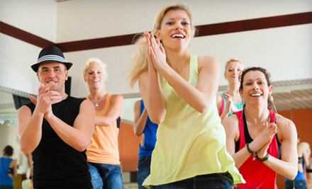5 or 10 Classes at Zumba Fitness by Granita (Up to 64% Off)