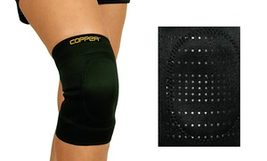 2-in-1 Copper Ceramic Infused Knee Support