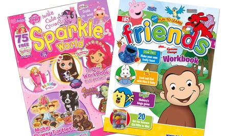 1-Year, 6-Issue Children's-Magazine Subscription to Sparkle World or Preschool Friends