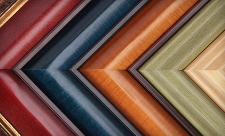 Custom Framing Services at Frame It in Brooklyn (Up to 60% Off). Two Options Available.