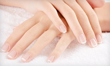 $42 for a No-Chip or Hydrating Manicure and Classic Pedicure at Sasha G Salon &amp; Spa (Up to $100 Value)