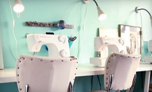 Sewing Fundamentals or Sewing Fundamentals 2 Class or Screenprinting Class at The Make Den (Up to 56% Off)