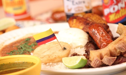 $12 for $25 Worth of Colombian Food at Los Parceros Colombian Food