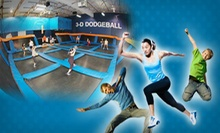 Two 60-Minute Jump Sessions, Birthday Party for 12 With Food and Drink, or Toddler Open Play at Sky Zone (Up to 58% Off)