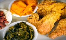 $5 for $10 Worth of Soul Food at Soul Food Express