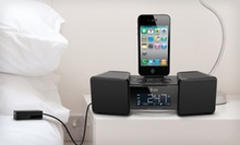 $29.99 for an iLuv Vibro II Dual-Alarm Clock with Bed Shaker for iPhone and iPod ($80 List Price). Free Shipping.