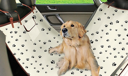 Waterproof Pet Hammock Car Seat Cover