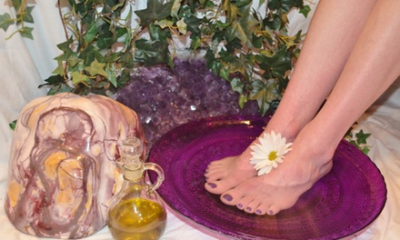 Up to 51% Off detox foot bath and optional chi at GARDEN OF CRYSTALS