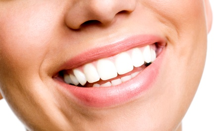 Dental Exam with Cleaning and X-Rays or Teeth Whitening at Aparna Subramanian, DDS (Up to 75% Off)