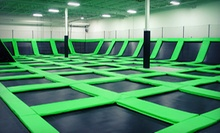 $12 for One-Hour Bounce Passes for Two at Zero Gravity ($24 Value)