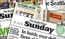 "$20 for a 26-Week Print and Digital Sunday Subscription to ""The Seattle Times"" ($81.90 Value)"