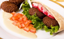 $9.99 for $20 Worth of Lebanese Food at Al Shallal Restaurant and Café