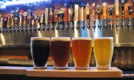 Beer Flights and Pints for Two or Four at House for Beer (Up to 44% Off)