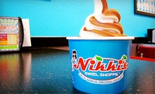 $7 for $14 Worth of Frozen Yogurt and Sandwiches at Nikki's Swirl Shoppe