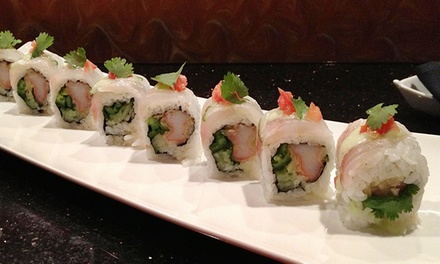 $15 for $30 Worth of Japanese Cuisine at Raku Sushi and Lounge