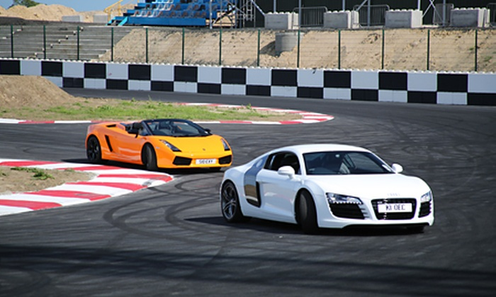 Supercars Scotland - Crail: Supercars Scotland: Driving Laps With Passenger Hot Laps from £99 (Up to 79% Off)