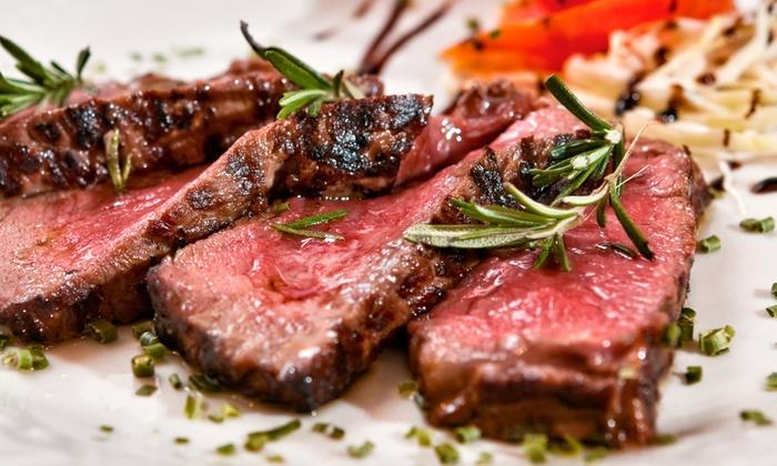 Lime On - Calcinaia (PI): Menu con tris di tagliata da 900 g e vino da 29 € invece di 88