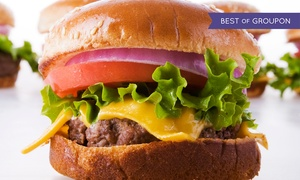 American Comfort Food at Tops Burger (40% Off). Two Options Available.