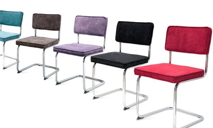 Design stoelen deal van de dag groupon for Verschillende kleuren eetkamerstoelen