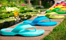$15 for $30 Worth of 100% Recyclable Sandals from Okabashi