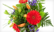 Holiday Bouquet or $25 for $50 Worth of Flowers at Vivio Flower Gallery