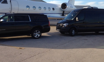 One-Way Airport Transportation from Any Where Ride (35% Off)