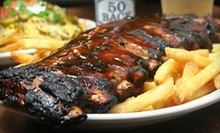 Barbecue and Bar Food at The Depot Sports Grille (Up to 53% Off). Two Options Available.