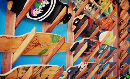 Skateboard Gear or Longboard Marathon Entry on November 9 for Two or Four at Adrenalina (Up to 58% Off)