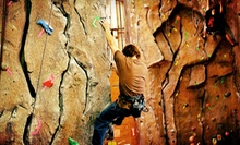 One Belay Class with One, Three, Five, or Seven Climbing Sessions at Granite Arch Climbing Center (Up to 52% Off)