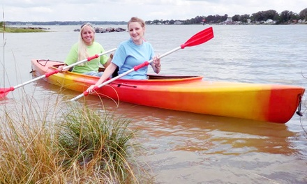Half- or Full-Day Kayak or Canoe Rental for Two at Colonial Beach Yacht Center (Up to 64% Off)
