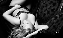 Red Door $69 for a Boudoir Photography Package with Print, Photo Credit, and Champagne at Red Door Studio ($267 Value)
