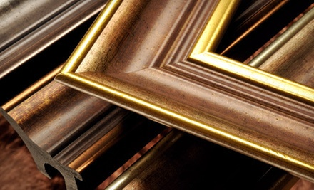 $40 for $100 Worth of Custom Framing at Glass Mosaic Canada 