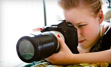 One or Two Introduction to Digital Photography Classes at Dazzle Photography (Up to 63% Off)