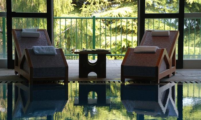 Park Hotel Jolanda - San Zeno di Montagna (VR): Lago di Garda, Park Hotel Jolanda - Notte con ingresso spa, cena, colazione e bottiglia di vino da 69 € per 2 persone