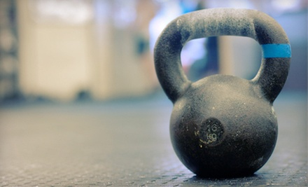 5 or 10 Kettlebell Bootcamp Classes from Strong Frame Fitness (Up to 83% Off)