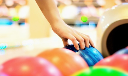 Two Games of Bowling with Shoe Rental for Two or Four at Rainbow Lanes Family Fun Center (Up to 51% Off)