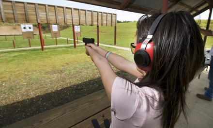 NRA Basic Pistol Shooting Course for One or Two at RMTL Training (Up to 58% Off)