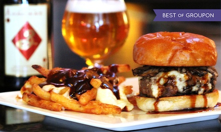 $28 for Two $25 Groupons for Gourmet Pub Fare at Chatterbox Pub. Three Locations Available.