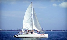 Four-Hour Catamaran Cruise from Playtime Watersports (51% Off). Two Options Available.
