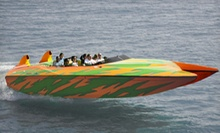 $35 for a 60-Minute Boston Harbor Speedboat Adventure and Souvenir Photo from Boston Sea Rocket (Up to $68.95 Value)