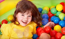 C$25 Five Play-Centre Visits at Fun World Family Playcentre (Up to C$50 Value)