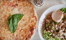 Pizza Meal for Two with Garden Salads and Drinks or $15 for $30 Worth of Pizza and Diner Food at Gillian's Pizzadelli
