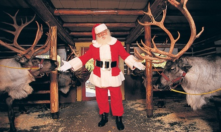 $120 for Admission for Four with Breakfast with Santa and Snow Playtime at Santa's Workshop ($195.56 Value)