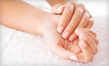 Set of Solar Nails or Shellac Manicure at Nail Spa by Sarah (Up to 58% Off)