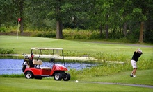 18-Hole Round of Golf for Two or Four Including Cart Rental and Range Balls at Luck Golf Course (Up to 55% Off)