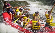 $259 for Full-Day Whitewater-Rafting Trip with Food and Beverages for Up to Six from Wiley E. Waters ($534 Value)
