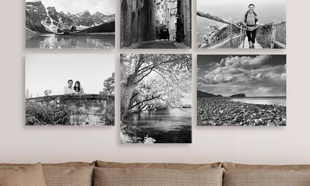 "One or Two 16"" x 20"" Gallery-Wrapped Canvas Prints"