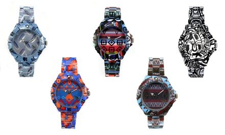 Relógio com desenhos tribais NumLock por 14,99€
