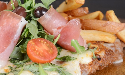 Argentinian-Italian Cuisine at Milanezza            (Up to 50% Off). Two Options Available.