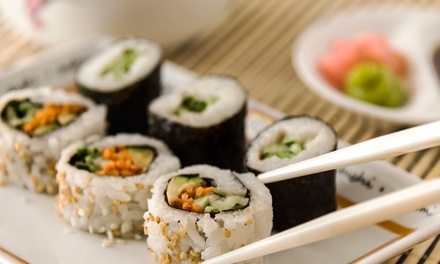 Sushi and Japanese Food at Tabu Sushi Bar & Grill (Up to 47% Off). Three Options Available.
